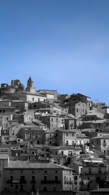 The ancient town of Scalea, where time stands still.