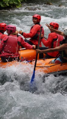 Rafting – down the river