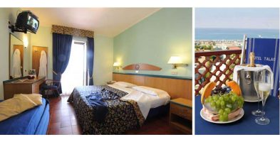 Camera Riviera (Vista Mare): € 290,00