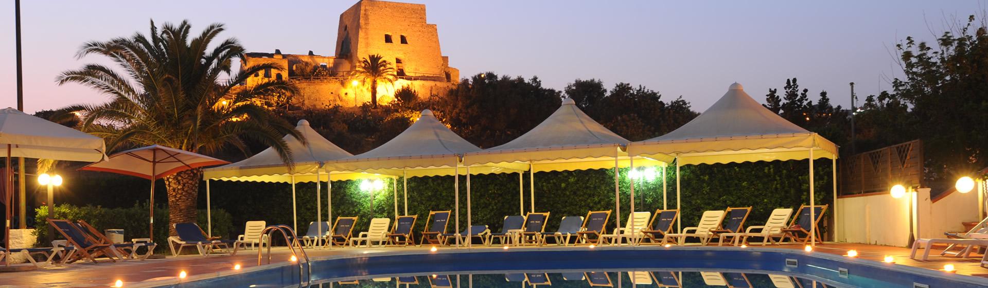 hotel talao scalea albergo 3 stelle pensione completa piscina